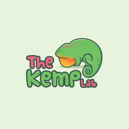 The Kemp Lab logo concept