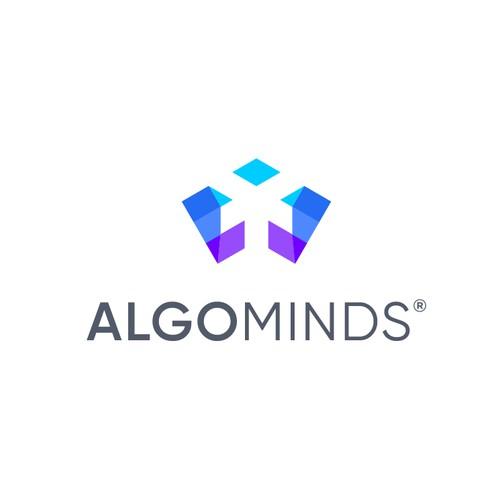 Logo designs for AlgoMinds