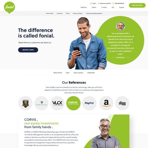 Review Page Design