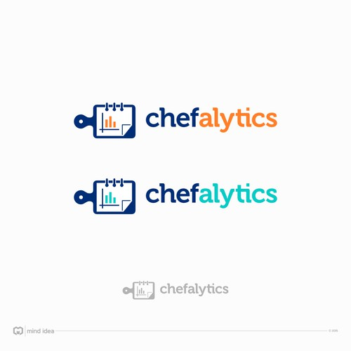 Create logo for catering/ restaurant technology startup (Chefalytics)