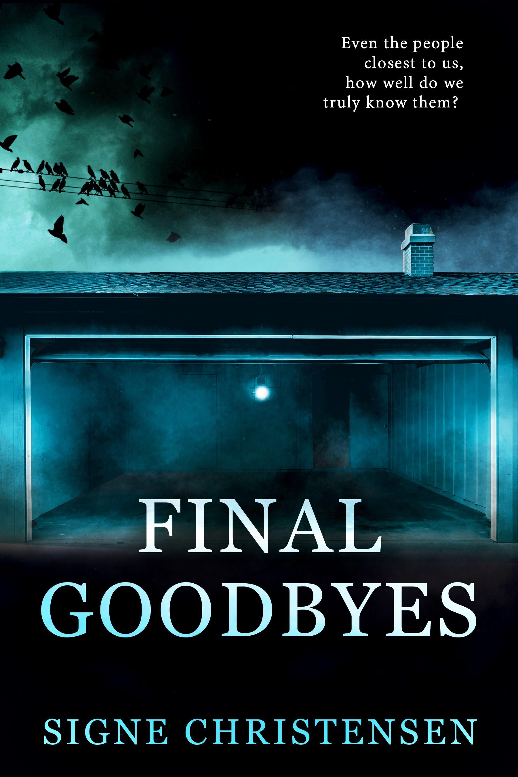 Ebook cover for psycological thriller