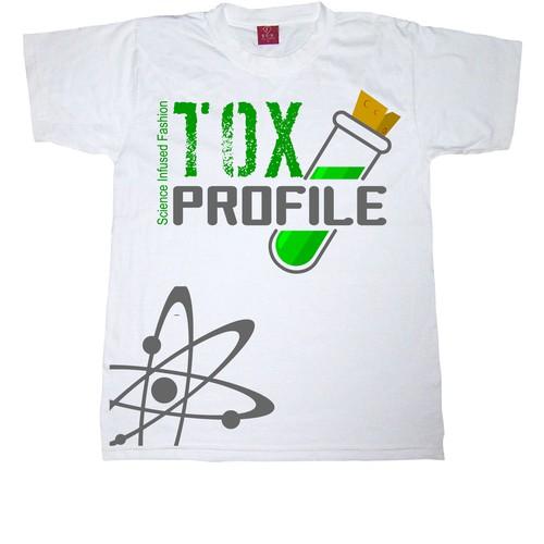 tox profile tshirt design