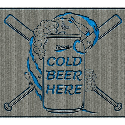 COLD BEER HERE!