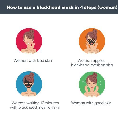 BLACK HEAD MASK ICON