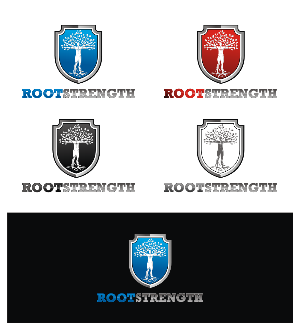 DOMINATE the COMPETITION by designing a logo for Root Strength.