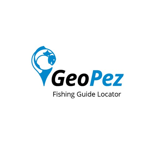 Logo for fishing guide site