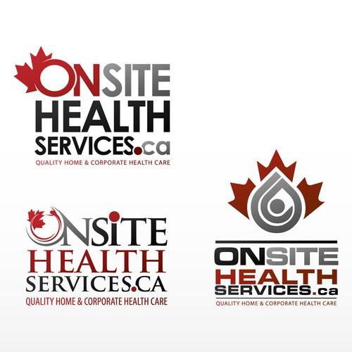 VISUAL IDENTITY for OnSiteHealthServices.Ca & ..