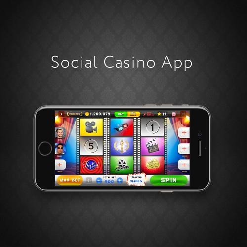 Casino app design