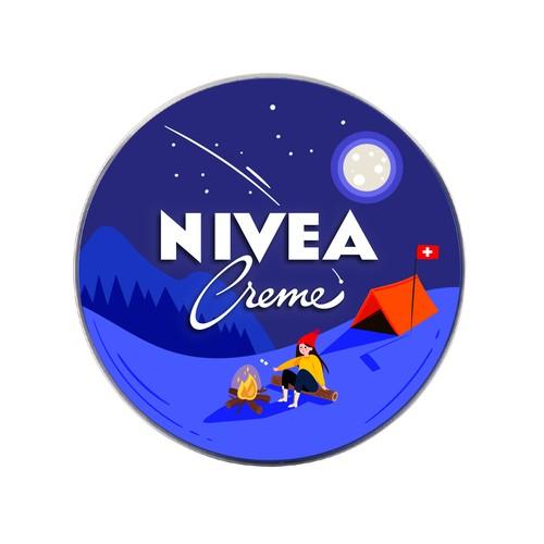 NIVEA Creme Swiss Anniversary Edition packaging