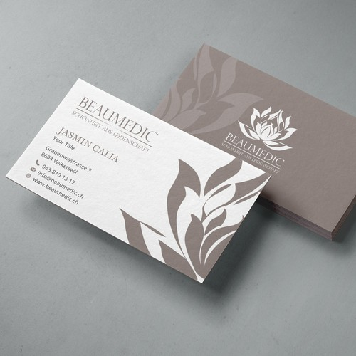 Business Card Design for a Beauty Salon