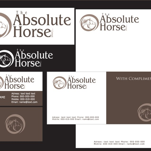 LOGO for the ABSOLUTE HORSE