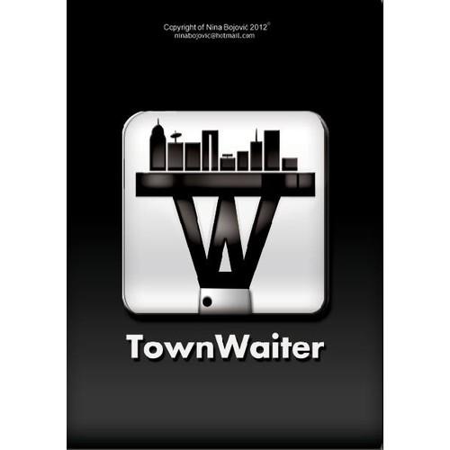 """""""Town waiter"""" app. icon"""
