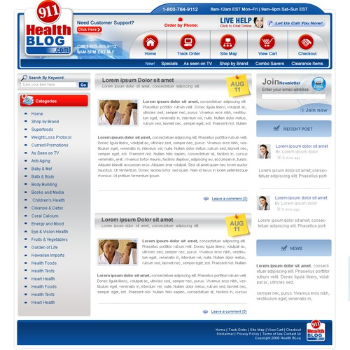 911 Health Blog