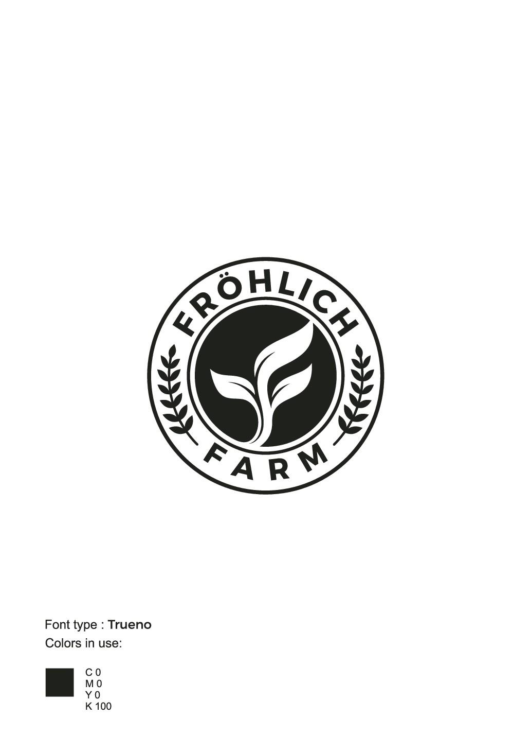 Moderne Landwirtschaft mit Link zum Konsumenten sucht neues Logo