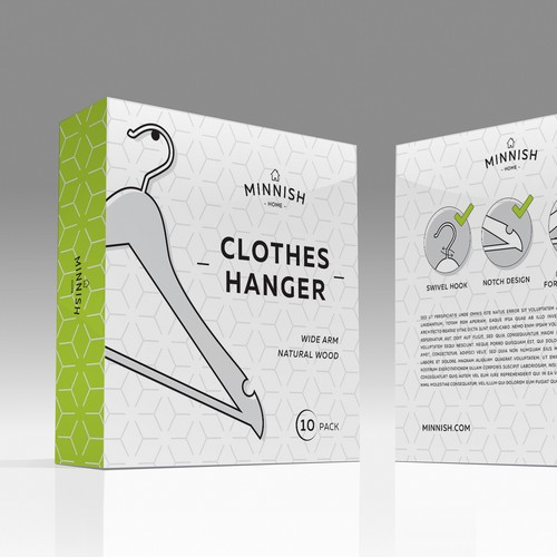 Package Design for Hangers