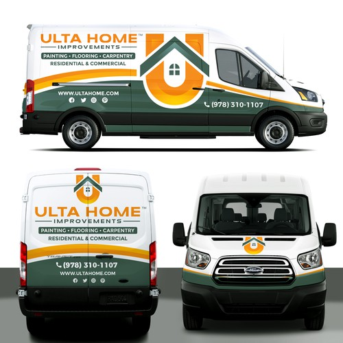 Ultra Home Vehicle wrap