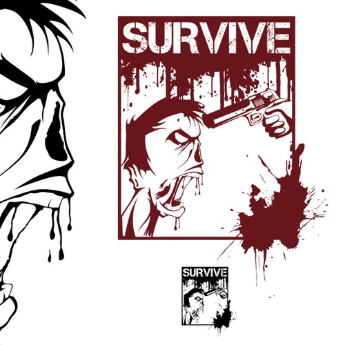 Open World Zombie Game, Survive Needs a New Logo!