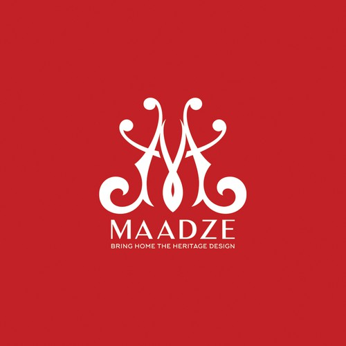 "Second concept for ""Maadze"" home furnishing."
