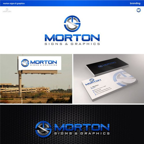 Create a winning logo design for Morton Signs & Graphics