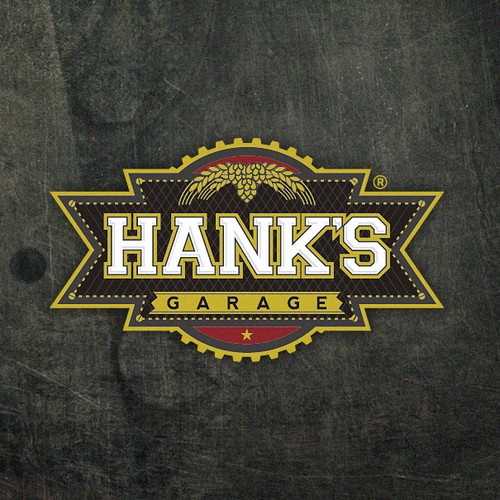Create the next logo for Hank's Garage