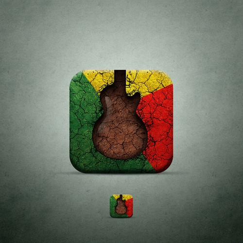 GuitAfrica - Icon Design