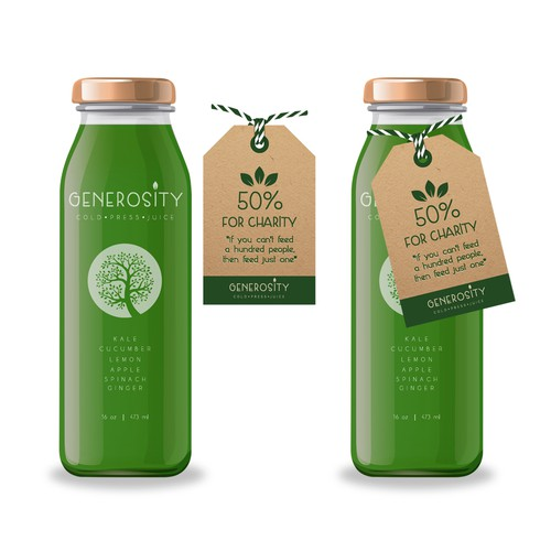 Cold Press Juice Packaging