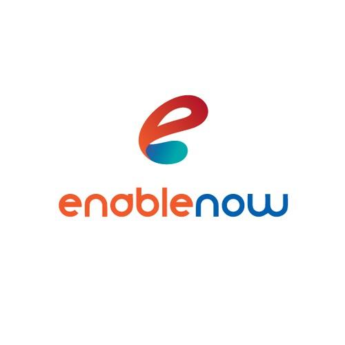 Logo design for ENABLENOW