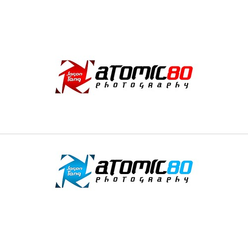 Help atomic80 photography with a new logo
