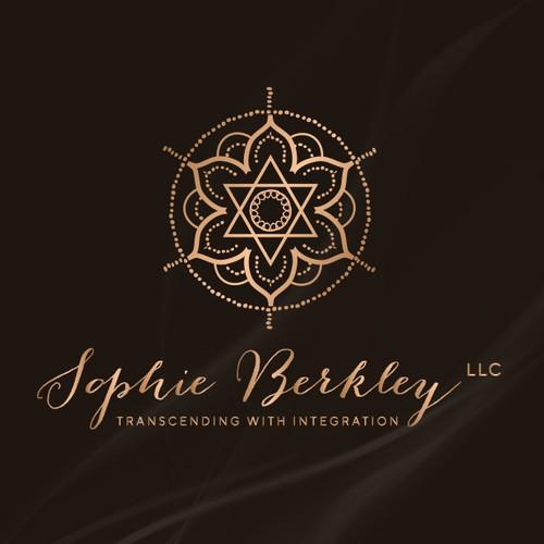 An elegant logo design for a meditation teacher