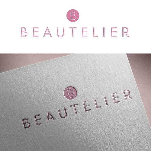 Simple logo design for new beauty brand