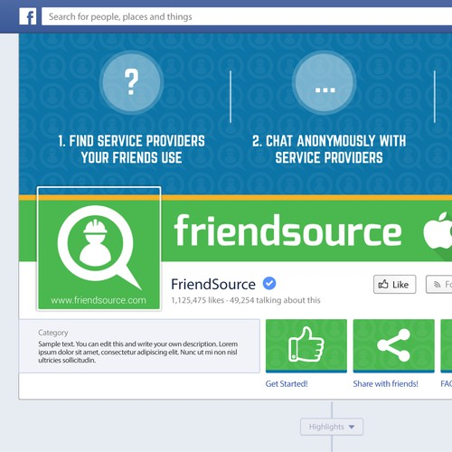 Friendsource; Social Media Design