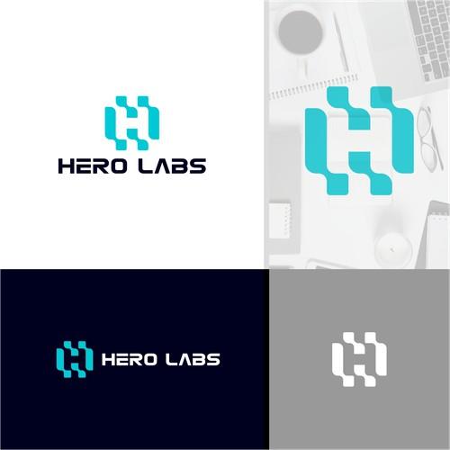 Dynamic Letter H Logo