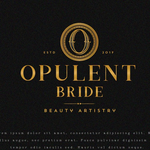 Logo for Opulent Bride
