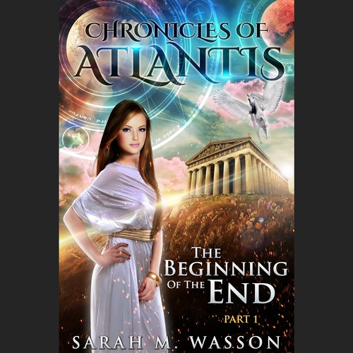 Cover for Chronicles of Atlantis - Sarah M. Wasson