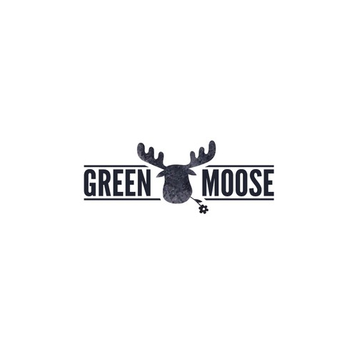 Moose cannabis logo