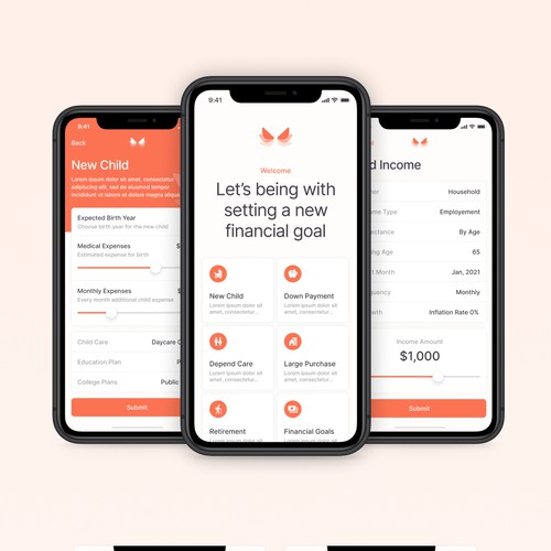 Financial app Planner