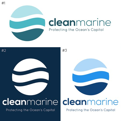 Logo for Clean Marine contest