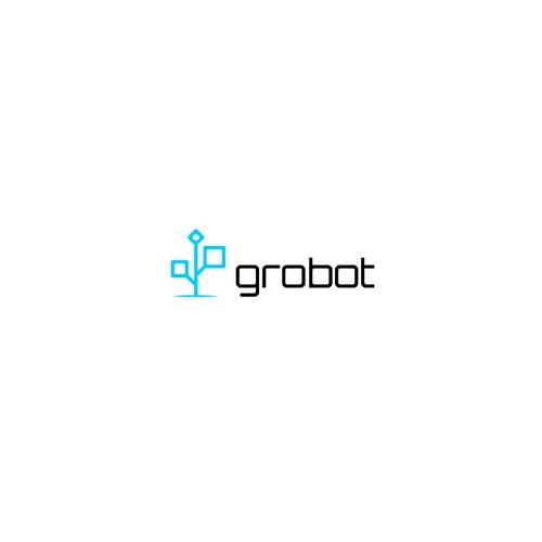 Modern Logo Concept for Grobot