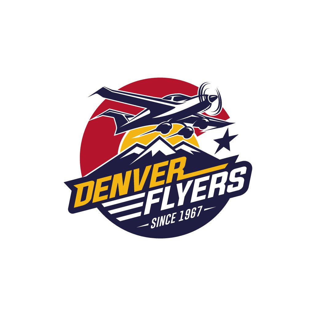 Design a logo for a group of small airplane pilots in the beautiful mountains of Denver, Colorado!