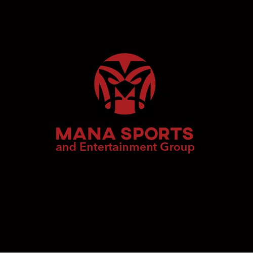 Strong logo for a sports company
