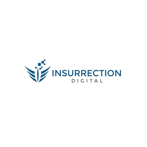 Sharp logo for Insurrection Digital