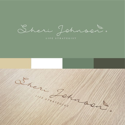 Logo design for Sherie Johnson