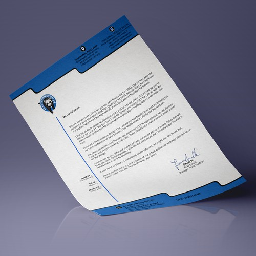 Unique Company Stationery Desing