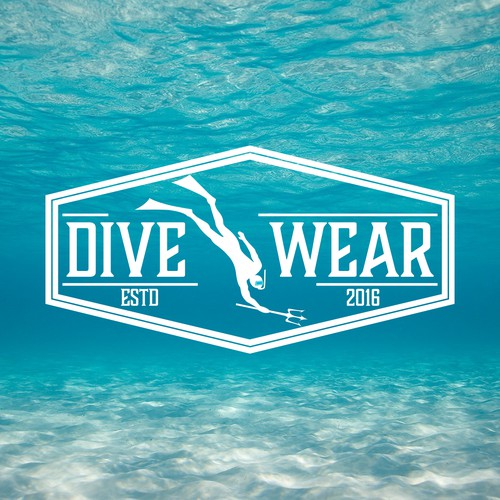 logo for diving equipment company