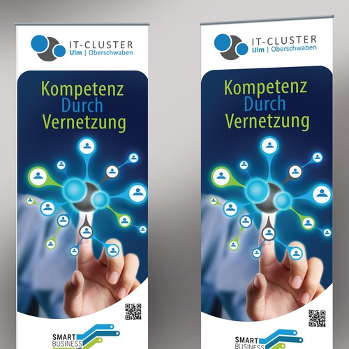Roll-Up Design für ein IT-Cluster