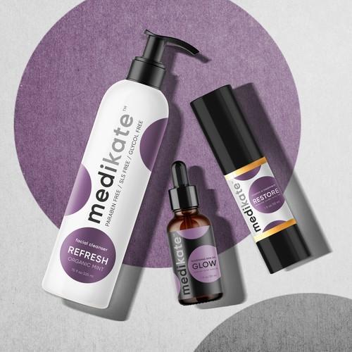Rebrand a fun skincare brand!