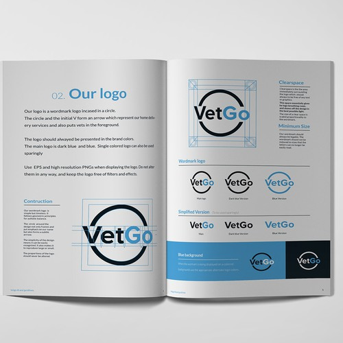 logo + brand guide