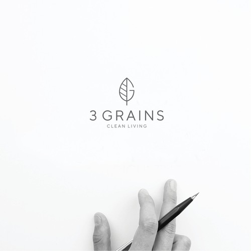 Create an inspirational logo for clean living