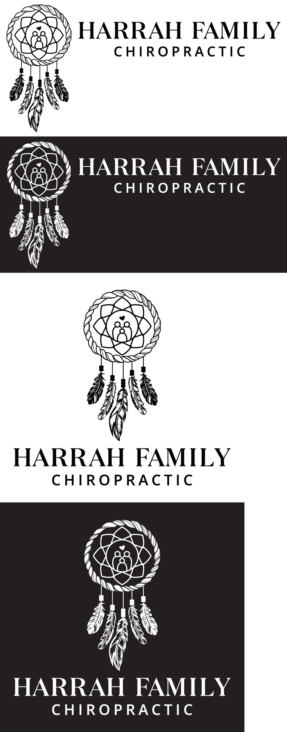 We need a logo that screams HEALTH but in a natural, holistic, hippy way