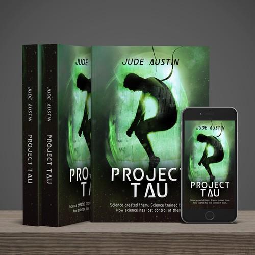 """Sci-fi book """"Project Tau"""""""
